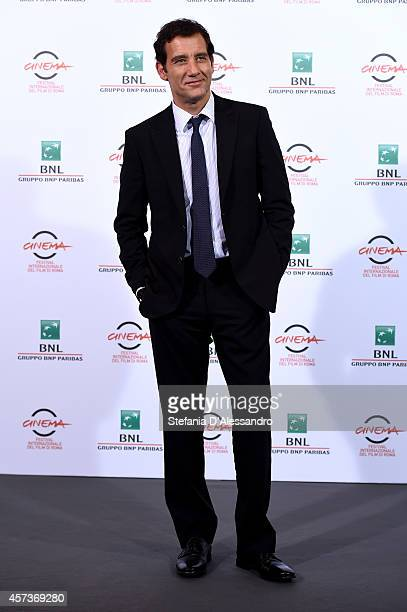 Clive Owen attends the 'The Knick' Photocall during the 9th Rome Film Festival on October 17 2014 in Rome Italy