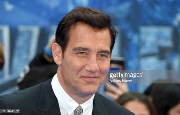 Clive Owen attends the 'Valerian' European premiere at Cineworld Leicester Square on July 24 2017 in London England