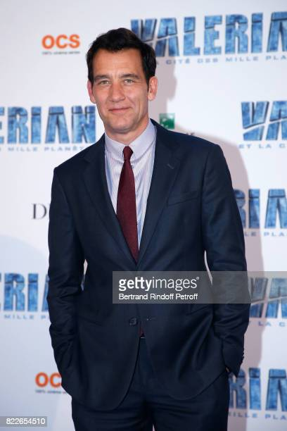 Clive Owen attends 'Valerian and the City of a Thousand Planets' Paris Premiere at La Cite Du Cinema on July 25 2017 in SaintDenis France