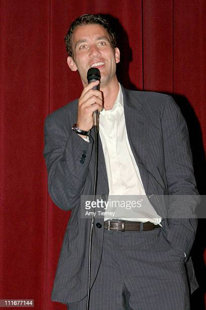 Clive Owen during 2004 Los Angeles Film Festival 'I'll Sleep When I'm Dead' Screening at Directors Guild of America in Los Angeles California United...
