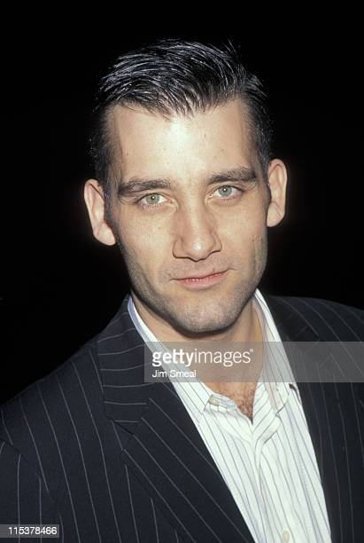 Clive Owen during Beverly Hills Premiere of 'Bent' at Academy Theater in Beverly Hills California United States