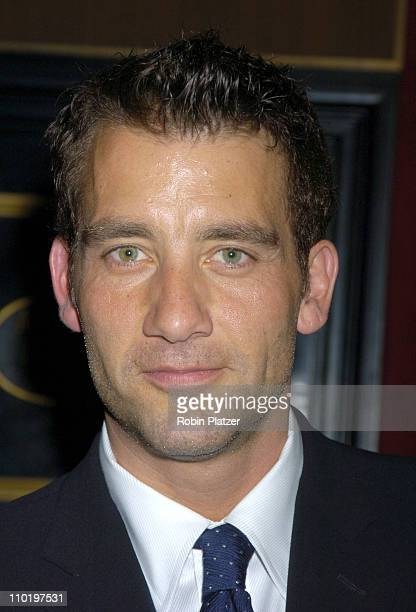 Clive Owen during 'King Arthur' World Premiere Inside Arrivals at The Ziegfeld Theatre in New York City New York United States