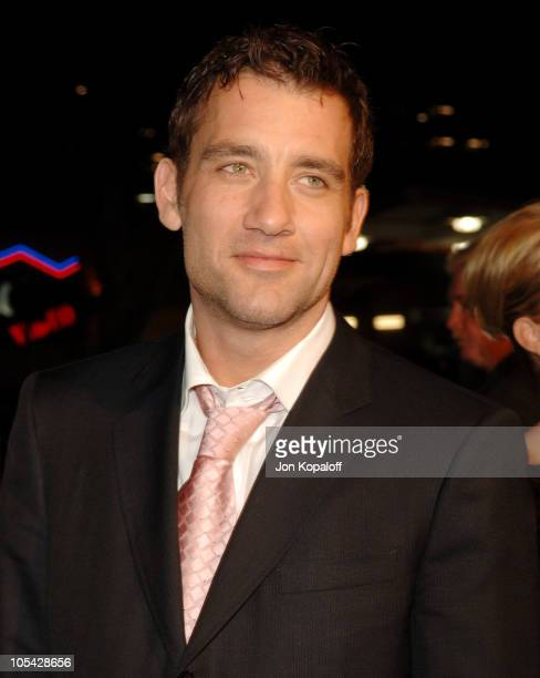 Clive Owen during Sin City Los Angeles Premiere Arrivals at Mann National Theater in Westwood California United States