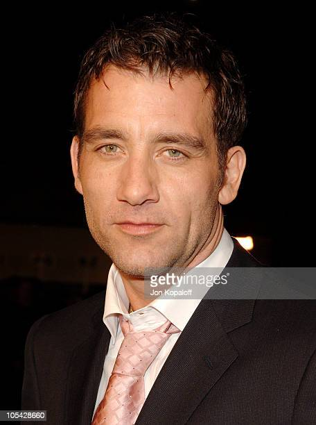 Clive Owen during 'Sin City' Los Angeles Premiere Arrivals at Mann National Theater in Westwood California United States