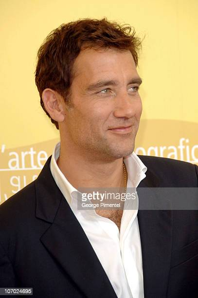 Clive Owen during The 63rd International Venice Film Festival 'Children of Men' Photocall at Palazzo del Casino in Venice Lido Italy