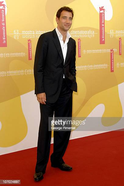 Clive Owen during The 63rd International Venice Film Festival Children of Men Photocall at Palazzo del Casino in Venice Lido Italy