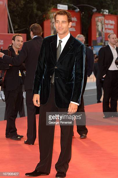 Clive Owen during The 63rd International Venice Film Festival 'Children of Men' Premiere Arrivals at Palazzo del Cinema in Venice Lido Italy