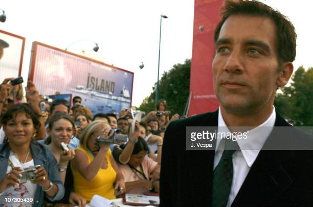 Clive Owen during The 63rd International Venice Film Festival 'Children of Men' Premiere Red Carpet and Inside at Palazzo del Cinema in Venice Lido...
