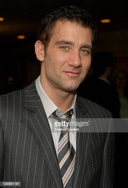 Clive Owen during The 70th Annual New York Film Critcs Circle Awards Inside at The Roosevelt Hotel in New York City New York United States