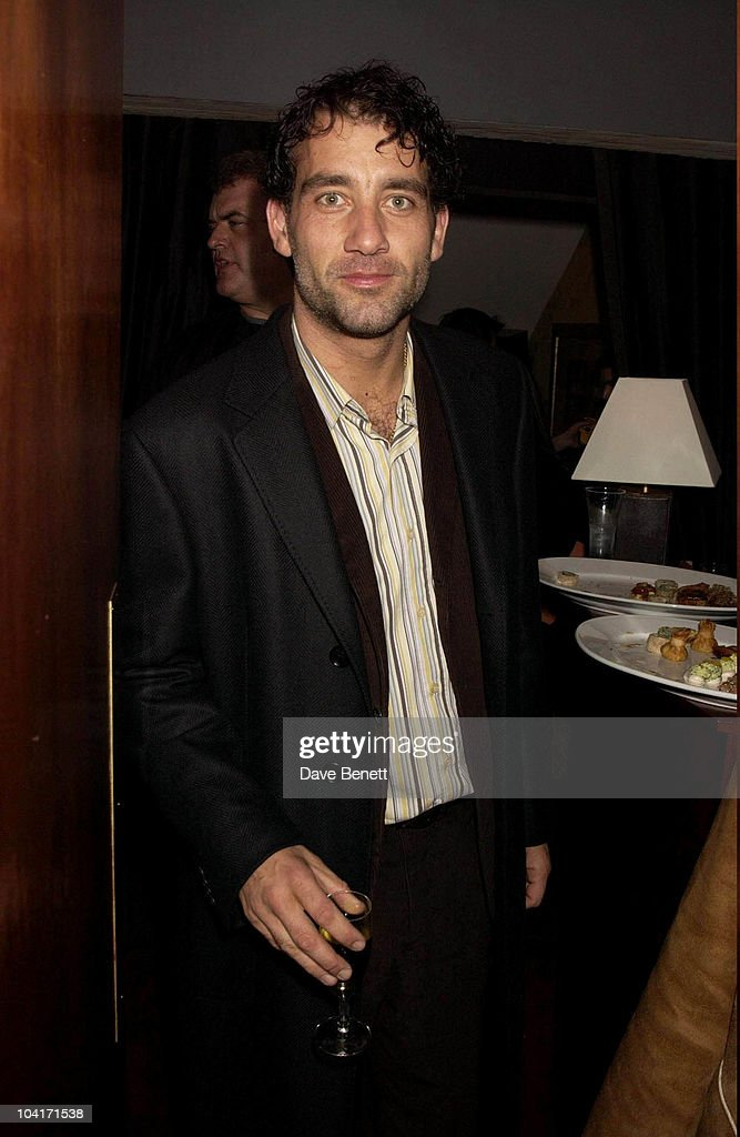 Clive Owen, The Singing Detective Movie Premiere At The Everyman Theatre In Hampstead, London