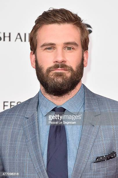 Clive Standen arrives to attend the opening ceremony of the 55th Monte Carlo TV Festival on June 13 2015 in MonteCarlo Monaco