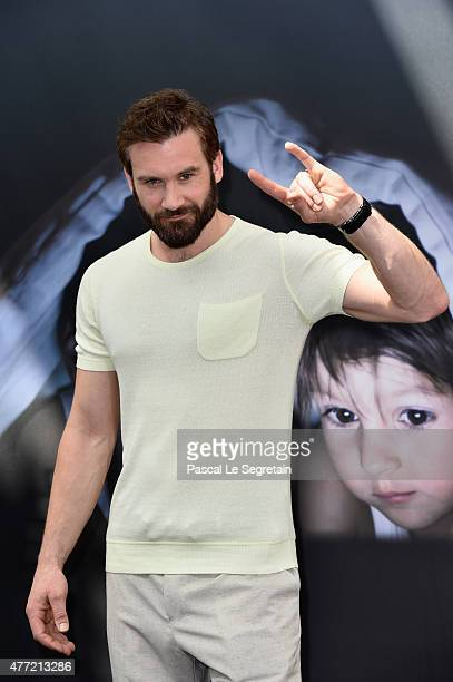 Clive Standen attends a photocall for the 'Viking' TV series on June 15 2015 in MonteCarlo Monaco