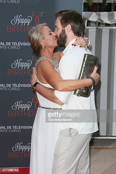 Clive Standen attends the 55th Anniversary Party at the Monte Carlo Beach on June 16 2015 in MonteCarlo Monaco