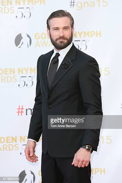 Clive Standen attends the 55th Monte Carlo TV Festival Closing Ceremony and Golden Nymph Awards at the Grimaldi Forum on June 18 2015 in MonteCarlo...