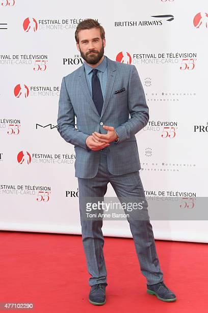 Clive Standen attends the 55th Monte Carlo TV Festival Opening Ceremony at the Grimaldi Forum on June 13 2015 in MonteCarlo Monaco