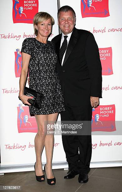 Clive Tyldesley attend the Bobby Moore Fund Spirit Of '66 Ball at The Hurlingham Club on October 1 2011 in London England