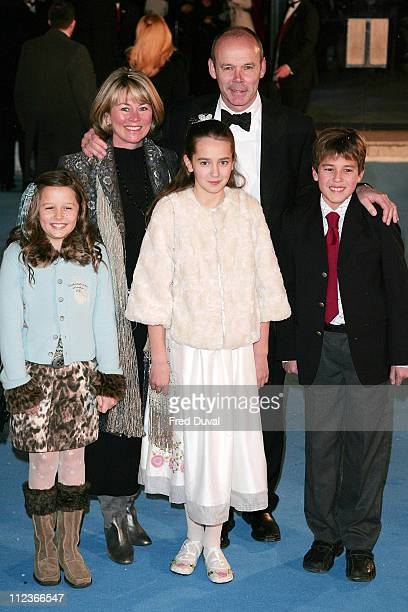 Clive Woodward and family during 'The Chronicles of Narnia The Lion The Witch and the Wardrobe' London Premiere at Royal Albert Hall in London Great...