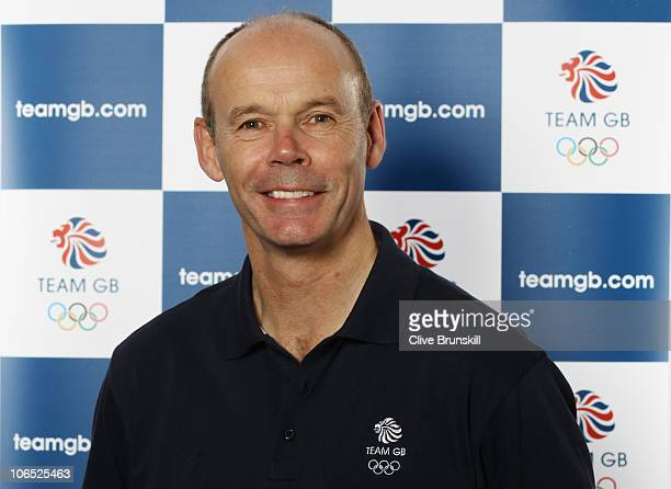 Clive Woodward Deputy Chef de Mission of Sport attends the London 2012 Olympic Team Leaders photocall on November 01 2010 in LoughboroughEngland...