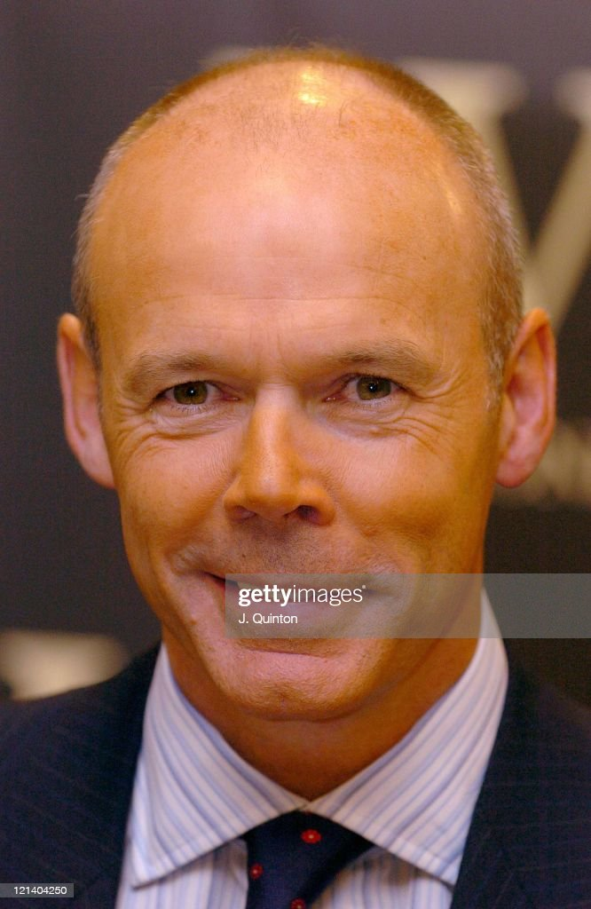"""Sir Clive Woodward Signs Copies of His Autobiography """"Winning"""""""