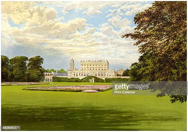 Cliveden Buckinghamshire home of the Duke of Westminster c1880 Cliveden was built by Charles Barry for George SutherlandLevesonGower 3rd Duke of...