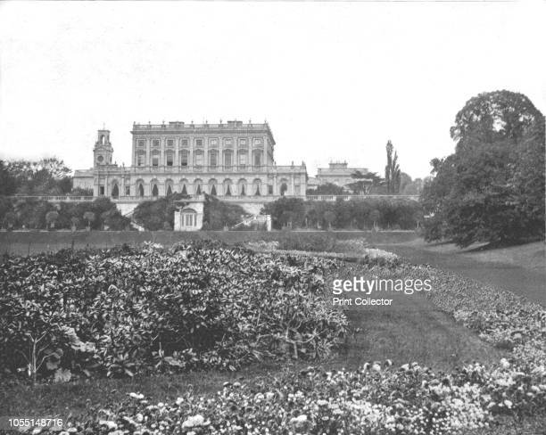 Cliveden House Maidenhead Berkshire 1894 Cliveden was built by Charles Barry for the Duke of Sutherland in 1851 Queen Victoria a frequent guest was...
