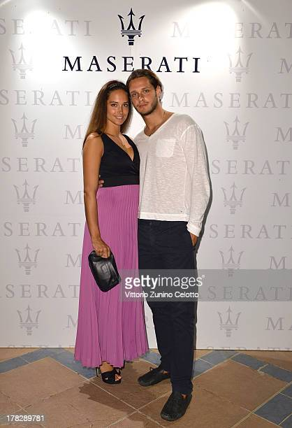 Clizia and Davide Fornasier attend the 70th Venice International Film Festival at Terrazza Maserati on August 28 2013 in Venice Italy