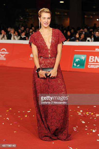 Clizia Incorvaia attends the 'Haider' Red Carpet during the 9th Rome Film Festival on October 24 2014 in Rome Italy