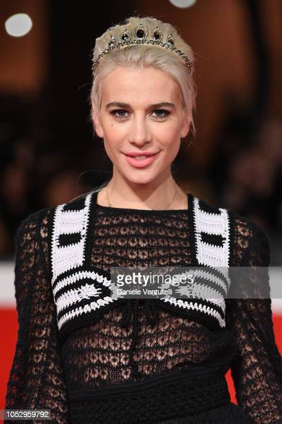 """Clizia Incorvaia walks the red carpet ahead of the """"Green Book"""" screening during the 13th Rome Film Fest at Auditorium Parco Della Musica on October..."""
