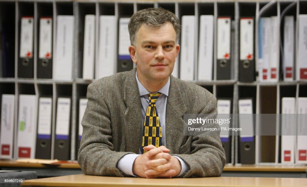 Cllr Martin Ford, during a break in proceedings of the public inquiry into Donald Trump's 1 billion golf resort plans, at Aberdeen Exhibition and Conference Centre.