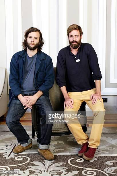 Clément Beauvais and Arthur de Kersauson directors of the movie The Greasy Hands Preachers at the 62th International Film Festival of San Sebastian