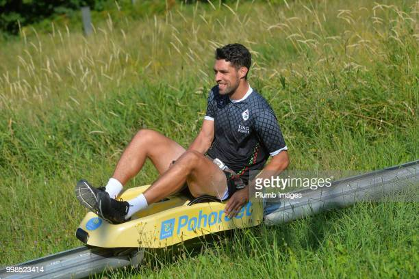 Clément Fabre during team bonding activities during the OHL Leuven training session on July 09 2018 in Maribor Slovenia