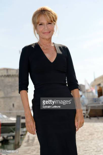Clémentine Celarié attends the 21th Festival of TV Fiction At La Rochelle Day Four on September 14 2019 in La Rochelle France