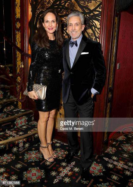 Clo Cohen and Charles S Cohen attend the Richard James 25th Anniversary event hosted by Richard James Charles S Cohen and Sean Dixon at Loulou's on...