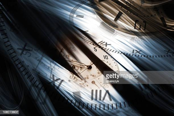 Clock and Time Background