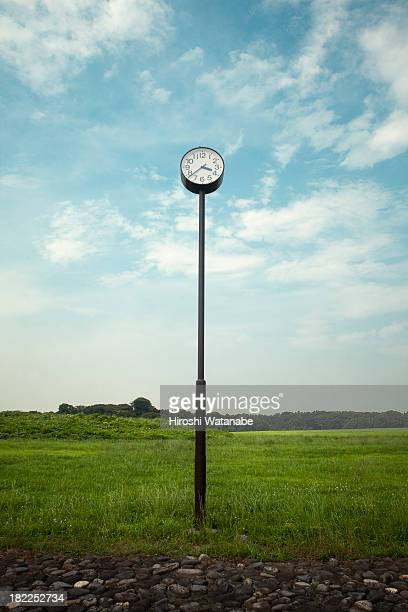 A clock in the park