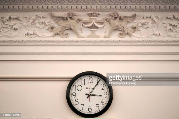 A clock is stopped at 306pm the exact moment that the referee called off the FA Cup semifinal between Liverpool and Nottingham Forest on April 15...