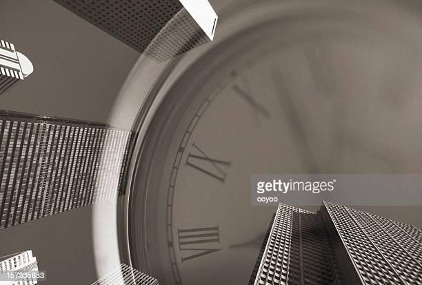 Relógio & Edifício de Escritórios