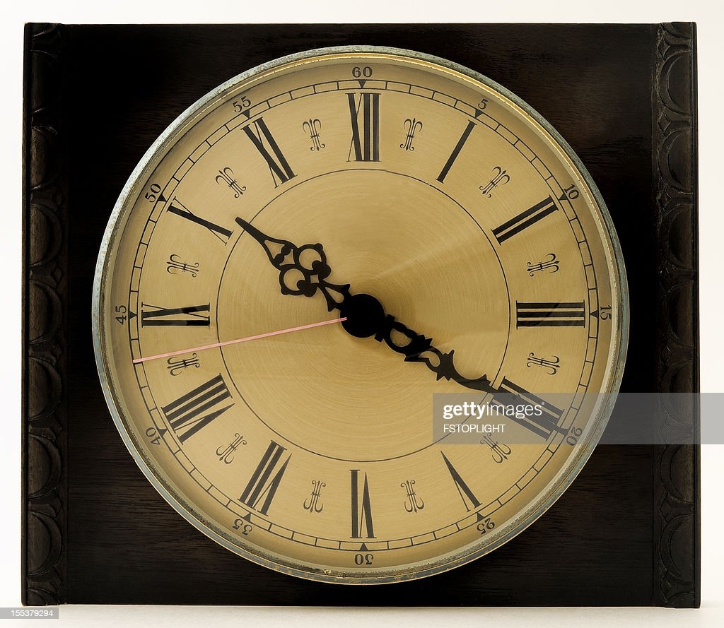 Clock on the wall stock photo getty images clock on the wall stock photo amipublicfo Gallery