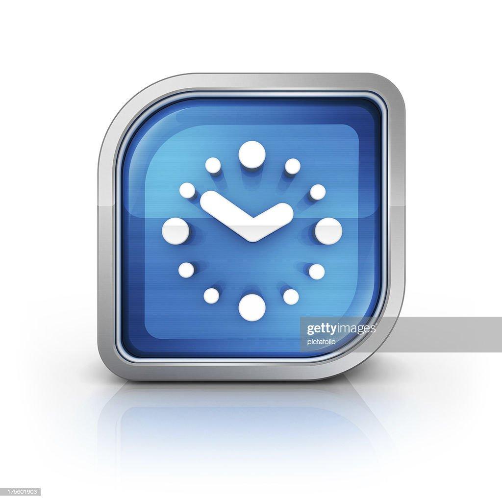 clock or Calendar Alarm icon : Stock Photo