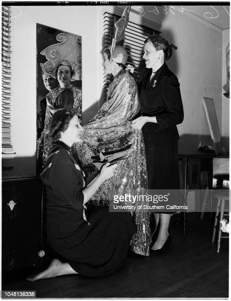 9 O'clock PlayersAssistance League Playhouse 05 October 1951 Joan DeanStefania PignatelliMrs KD HollandMrs Howard E HeydenPatricia JonesMrs Robert C...