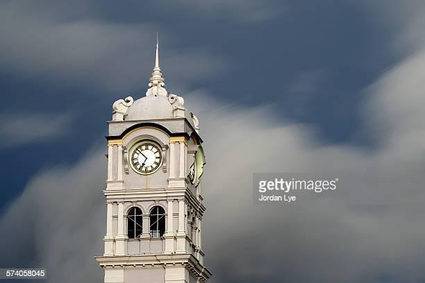 Clock Tower at Penang Customs Department Building