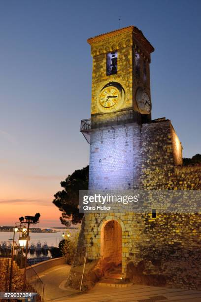 Clock Tower & Belfry Le Suquet Old Town Cannes