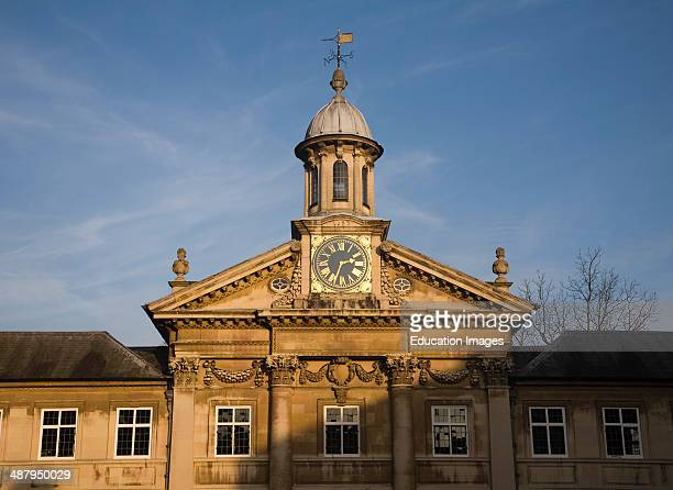 Clock tower Emmanuel College University of Cambridge England