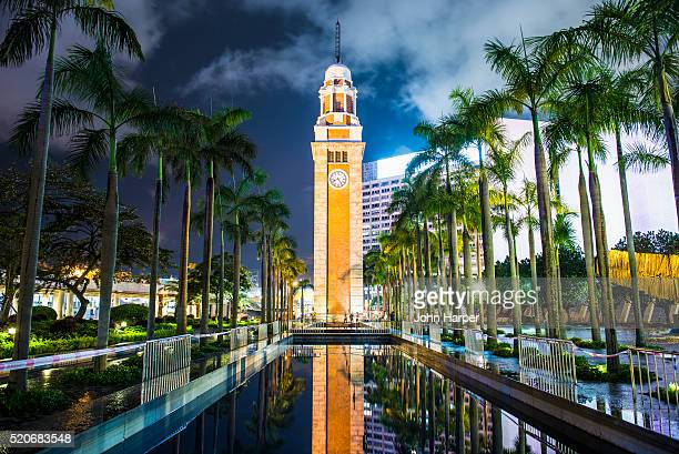 clock tower, hong kong - clock tower stock pictures, royalty-free photos & images