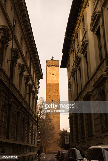 Clock tower in Pavia