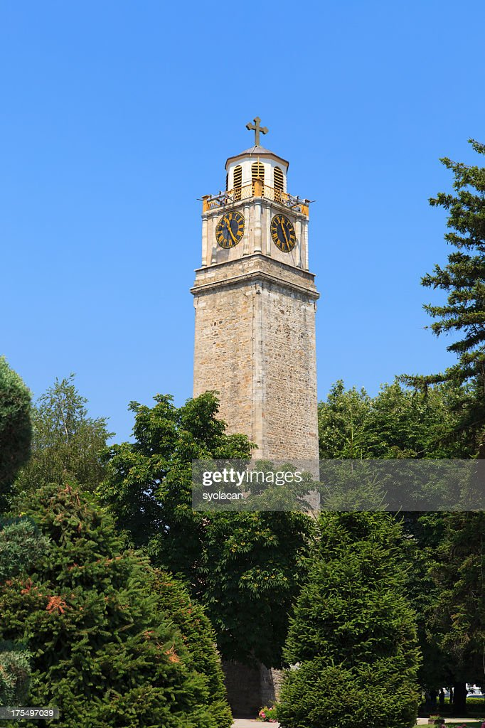 Clock tower of Bitola : Stock Photo