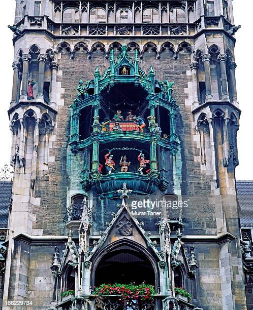 clock tower - glockenspiel stock photos and pictures