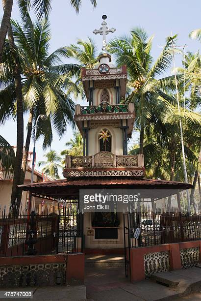 clock tower - kochi india stock pictures, royalty-free photos & images