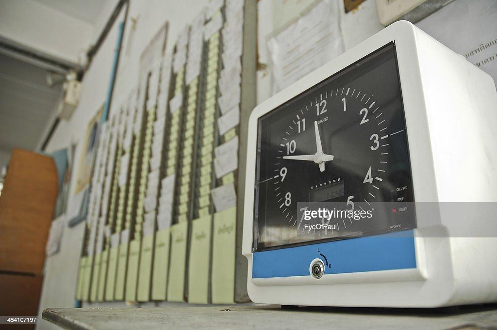 clocking system : Stock Photo