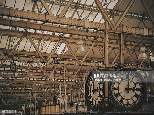 Clocks At Waterloo Railway Station